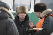 Руководитель гонки В.Алексанов г.Братск с судьями